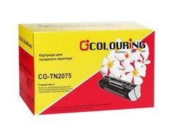 Brother картридж TN-2075 совм. HL-2030/2040/2070/DCP-7010R/MFC 7420R/7820NR/FAX2920R (2,5К) Colouring     TN-2075 - фото 4992