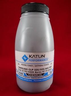 Тонер Samsung CLP 320/325/360/365, CLX 3170/3305, Xerox 6110 black, химический (фл.90г.) Katun фас. Россия     320 - фото 5326