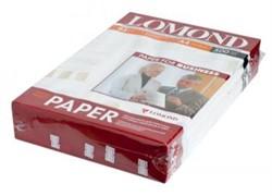 Lomond Глянцевая бумага 1х A4, 85г/м2, 500 л.     0102146 - фото 5434
