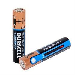 Батарейка AAA, Duracell Turbo Max, определитель уровня заряда  (1 шт.)     LR03-12BL - фото 5491