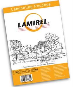 Пленка для ламинирования  Lamirel,  А4, 75мкм, 100 шт.     LA-78656 - фото 5665