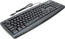 Клавиатура Genius KB-110X Black, USB/RU/CB     31300711104 - фото 7828