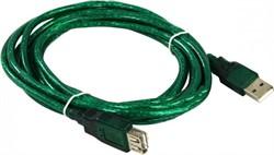 Кабель удлинительный USB2.0 AM/AF 3m прозрачная изоляция Aopen/Qust (ACU202-3MTG)     ACU202-3MTG_853691 - фото 9266