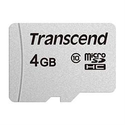 Флеш карта microSD 4GB Transcend microSDHC Class 10, (без адаптера), TLC     TS4GUSD300S - фото 9273