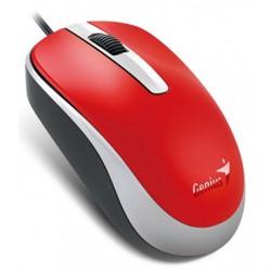 Мышь GENIUS DX-120, USB, G5, красная (red, optical 1000dpi, подходит под обе руки)     31010105104 - фото 9299