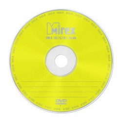 Диск DVD-R Mirex 4.7 Gb, 16x, Slim Case (1), (1/200)     202363 - фото 9325