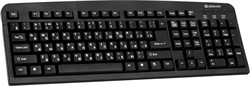 Клавиатура Defender Element HB-520 USB B(Черный) 104+3кн.     45522 - фото 9359