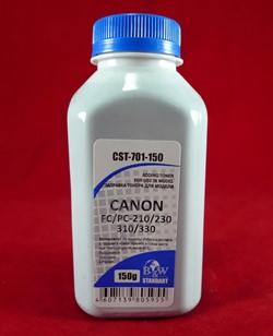 Тонер CANON FС/PC-210/230/310/330 (фл. 150 г) B&W Standart фас России - фото 9471