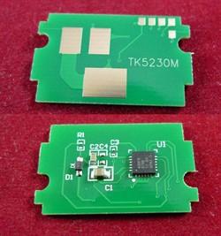 Чип для Kyocera Ecosys P5021cdn/M5521cdn (TK-5230M) Magenta 2.2K ELP Imaging®     ELP-CH-TK5230M - фото 9505