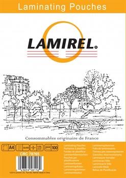 Пленка для ламинирования  Lamirel,  А4, 175мкм, 100 шт.     LA-78765 - фото 9659