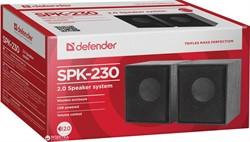 Defender Акустическая 2.0 система SPK 230 4 Вт, питание от USB.     65223 - фото 9745