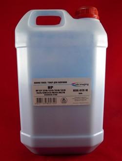 Тонер HP CB541A/CE321A/CF211A Cyan, химический (кан. 1кг) B&W Premium (Mitsubishi) фас. России     1 кг синий - фото 9835