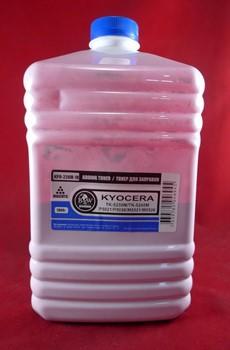 Тонер для Kyocera TK-5220/5230/5240/5140/5150/5160/5270/5280/5290/8115/895/590/580/540/550/560/570 Magenta (фл. 1кг) Black&White Premium     KPR-224M-1K - фото 9838