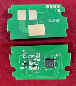 Чип для Kyocera Ecosys P5026cdn/M5526cdn (TK-5240Y) Yellow, 3K (ELP Imaging®)     ELP-CH-TK5240Y - фото 9853