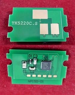 Чип для Kyocera Ecosys P5021cdn/M5521cdn (TK-5220C) Cyan, 1.2K (ELP Imaging®)     ELP-CH-TK5220C - фото 9914
