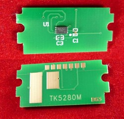 Чип для Kyocera Ecosys P6235cdn/M6635cidn (TK-5280M) Magenta, 11K ELP Imaging®     TK5280 - фото 9962
