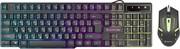 Defender Проводной набор Sydney C-970 RU,черный (подсветка)     45970