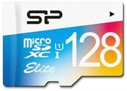 Флеш карта microSD 128GB Silicon Power Elite microSDHC Class 10 UHS-I  Colorful     SP128GBSTXBU1V21