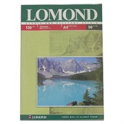 Lomond Глянцевая бумага 1x A4, 130г/м2, 50л.     0102017