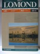 Lomond Матовая бумага 1х A4, 140г/м2, 25 листов     0102073
