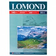 Lomond Глянцевая бумага 1х A4, 140г/м2 50 л.     0102054