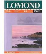 Lomond Матовая двусторонняя бумага A4, 170г/м2, 100 листов     0102006