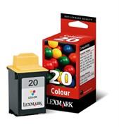 Lexmark Картридж увеличенной емкости N°20 к Z42/Z51/Z52 (цветной)     15MX120