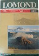 Lomond Глянцевая бумага 1х A4, 230г/м2, 50л.     0102022