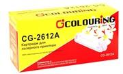 Картридж совместимый Q2612A Colouring 2000 копий     Q2612A/FX-10/703