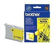 Картридж Brother DCP130C/330С, MFC-240C/5460CN/DCP350 Yellow, 400 pages (5%)     LC1000Y
