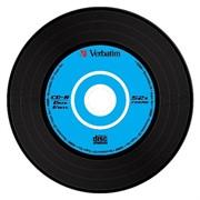 CD-R 700Mb 48x, DL+, VINIL, 10 шт, Slim Case Verbatim     43426