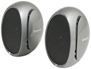 Defender Акустическая система 2.0 OnAir S4 — 2x2W, USB, серебро     65650