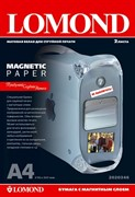 Lomond Матовая бумага с магнитным слоем Magnetic A4 2л.     2020346