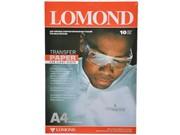 Lomond Бумага А4 для термопереноса на светлые ткани, 50 л. (цена за 1 лист)     0808415