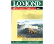 Lomond Глянцевая 1x фотобумага А5 50л230г/м2 (210x148мм)     0102070