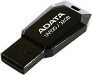 Флеш накопитель 32GB A-DATA UV100, USB 2.0, Черный     AUV100-32G-RBK