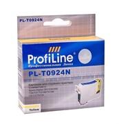 Картридж для Epson Stylus C91/CX4300/TX106/TX109/TX117/TX119/T26/T27 Yellow ProfiLine     0924N