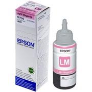 Контейнер для Epson L800 со светло-пурпурными чернилами 70 мл     C13T67364A