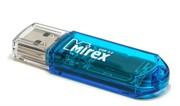 Mirex Флеш накопитель 4GB Elf, USB 2.0, Синий     13600-FMUBLE04