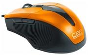 Мышь CBR CM-301 Orange, оптика, эргон, 2 доп.кл., программируемые кнопки, USB     CM 301 Orange