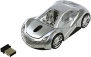 Мышь сувенирная беспроводная CBR MF 500 Elegance Silver, игр.автомобиль, 2,4 ГГц     MF 500 Elegance Silver