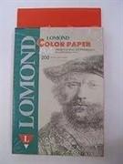 Офисная цветная бумага Lomond Red (Красный), A4, 80 г/м2, 200 листов.     1004214