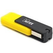 Флеш накопитель 16GB Mirex City, USB 2.0, Желтый     13600-FMUCYL16