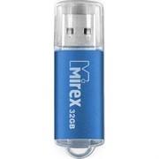 Флеш накопитель 32GB Mirex Unit, USB 2.0, Синий     13600-FMUAQU32